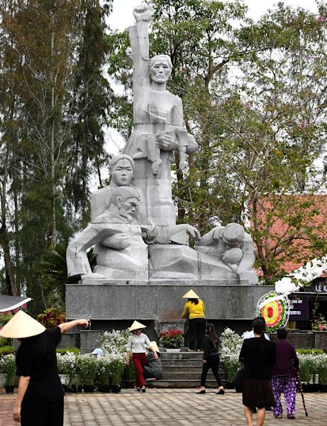 Haeberle's photos would eventually help to blow the lid on the cover-up of the My Lai massacre (AFP Photo/NHAC NGUYEN)