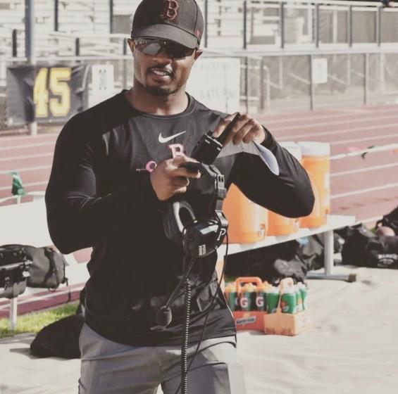 """Malcolm Manuel, the Banning junior varsity coach, is the new football coach at Narbonne. <span class=""""copyright"""">(Courtesy Malcolm Manuel)</span>"""