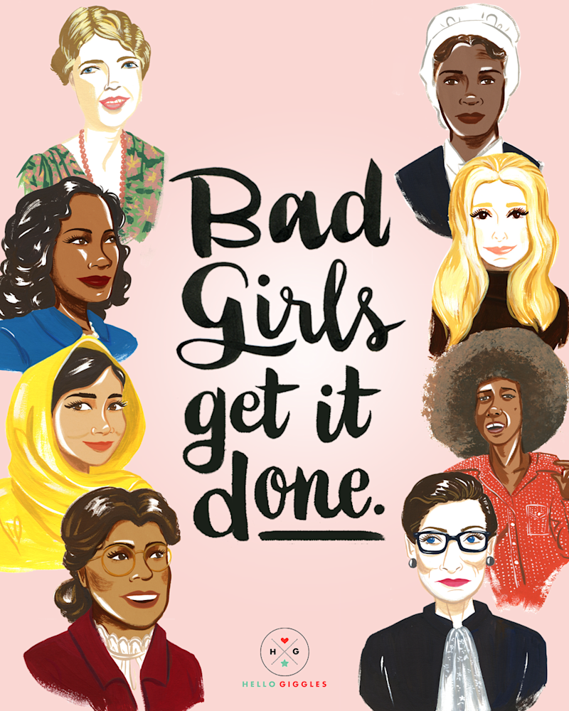 Celebrate International Women's Day by downloading this girl-powered poster from illustrator Ann Shen