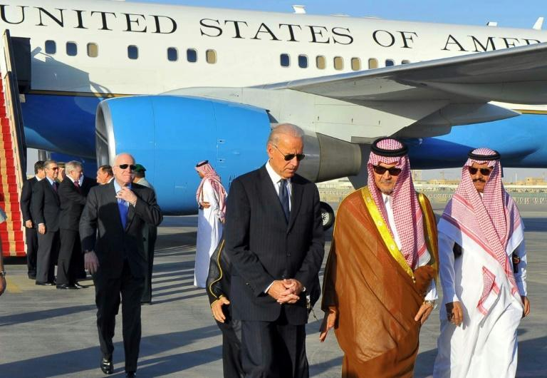 US president-elect Joe Biden travelled to Saudi Arabia as vice president in 2011 to offer condolences to the late King Abdullah following the death of his brother
