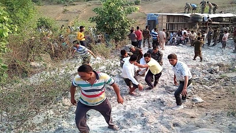 Jharkhand: 11 Dead, 39 Injured After Bus Falls Into Gorge in Garhwa
