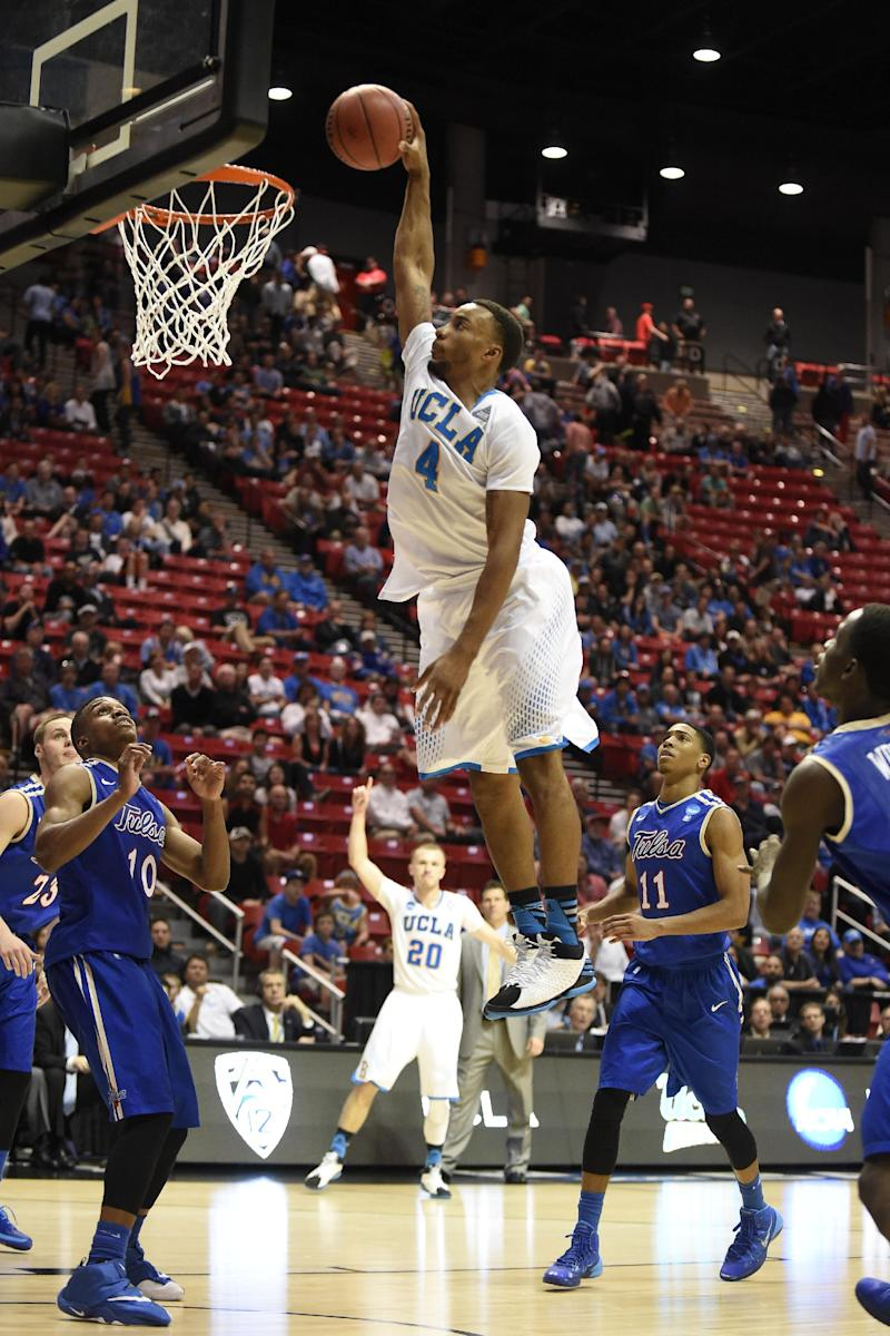 Adams, UCLA beat Manning's Golden Hurricane 76-59