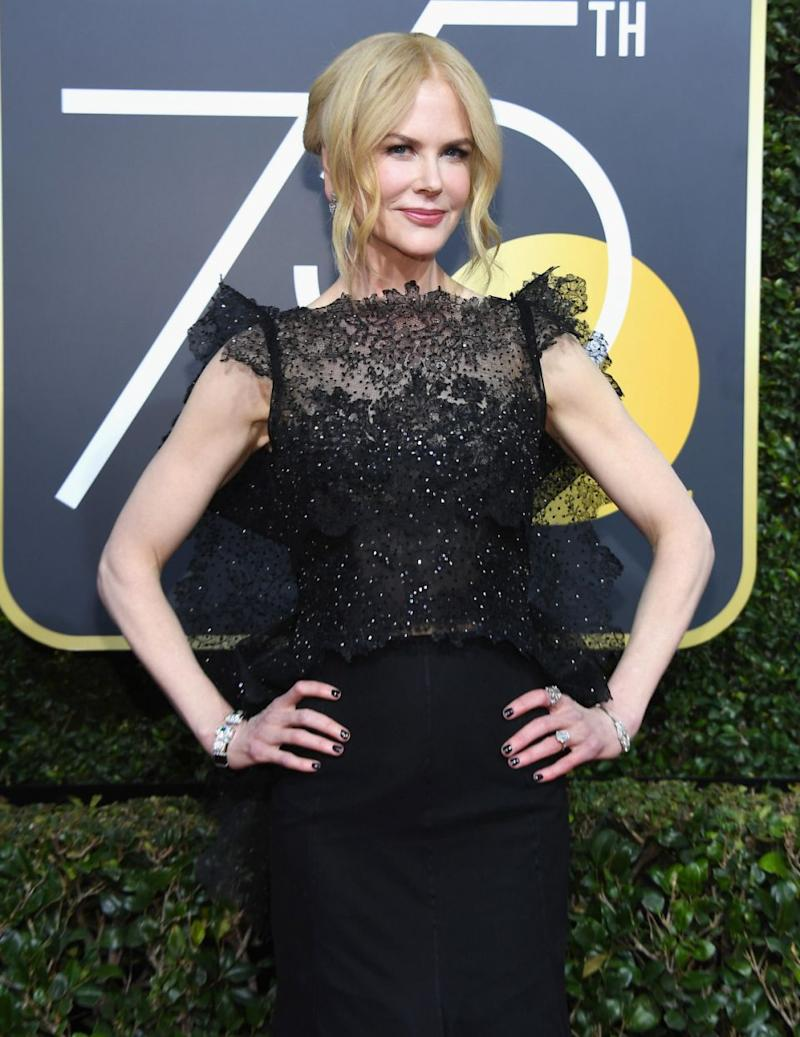 Nicole Kidman won her first Emmy last year for her role in Big Little Lies. Will she win a Golden Globe too? Source: Getty
