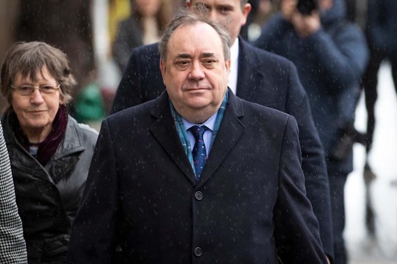 Alex Salmond was acquitted of all charges (PA)