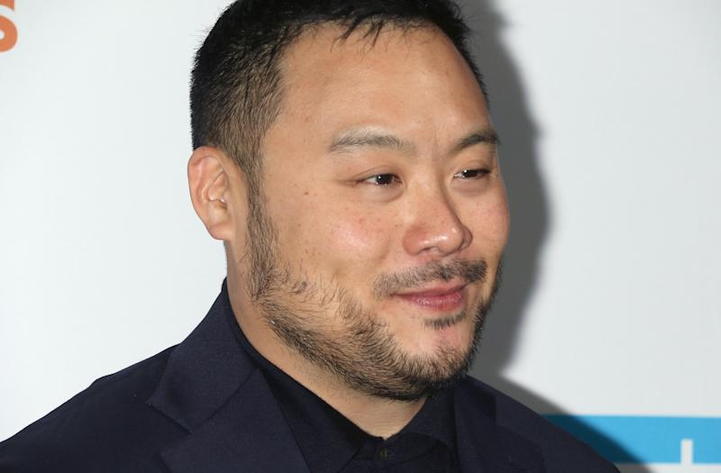 NEW YORK, NEW YORK - OCTOBER 17: David Chang attends the 2019 Hudson River Park Gala at Cipriani South Street on October 17, 2019 in New York City. (Photo by Jim Spellman/Getty Images)