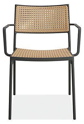 "<p><strong>Room and Board</strong></p><p>roomandboard.com</p><p><strong>$399.00</strong></p><p><a href=""https://www.roomandboard.com/catalog/outdoor/chairs/plat-chair/581814?articleNumber=581814&productGroup=29007&Camp=gshop_outdoor_dining&k_clickid=93327d71-be23-4d12-8d16-8676f2af3f00&attr=NH4_Google_All+Categories_Customer+List_Retargeting_DMT_US_Sales&kpid=go_cmp-2058141983_adg-76088448236_ad-380801101139_aud-841839400489%3Apla-1046015434512_dev-c_ext-_prd-29007-5FA0037C_mca-5476240_sig-Cj0KCQiAhs79BRD0ARIsAC6XpaWcny86JmaRqP4naQQ-3I8FI-A1bfcCQDxhODS23VNG30Ioi66oa7caAiyiEALw_wcB&gclid=Cj0KCQiAhs79BRD0ARIsAC6XpaWcny86JmaRqP4naQQ-3I8FI-A1bfcCQDxhODS23VNG30Ioi66oa7caAiyiEALw_wcB"" rel=""nofollow noopener"" target=""_blank"" data-ylk=""slk:Shop Now"" class=""link rapid-noclick-resp"">Shop Now</a></p><p>Take the look of cane outdoors with Room and Board's Plat chair, which is made from a woven polyethylene seat and back that mimics the natural appearance of classic cane.</p>"