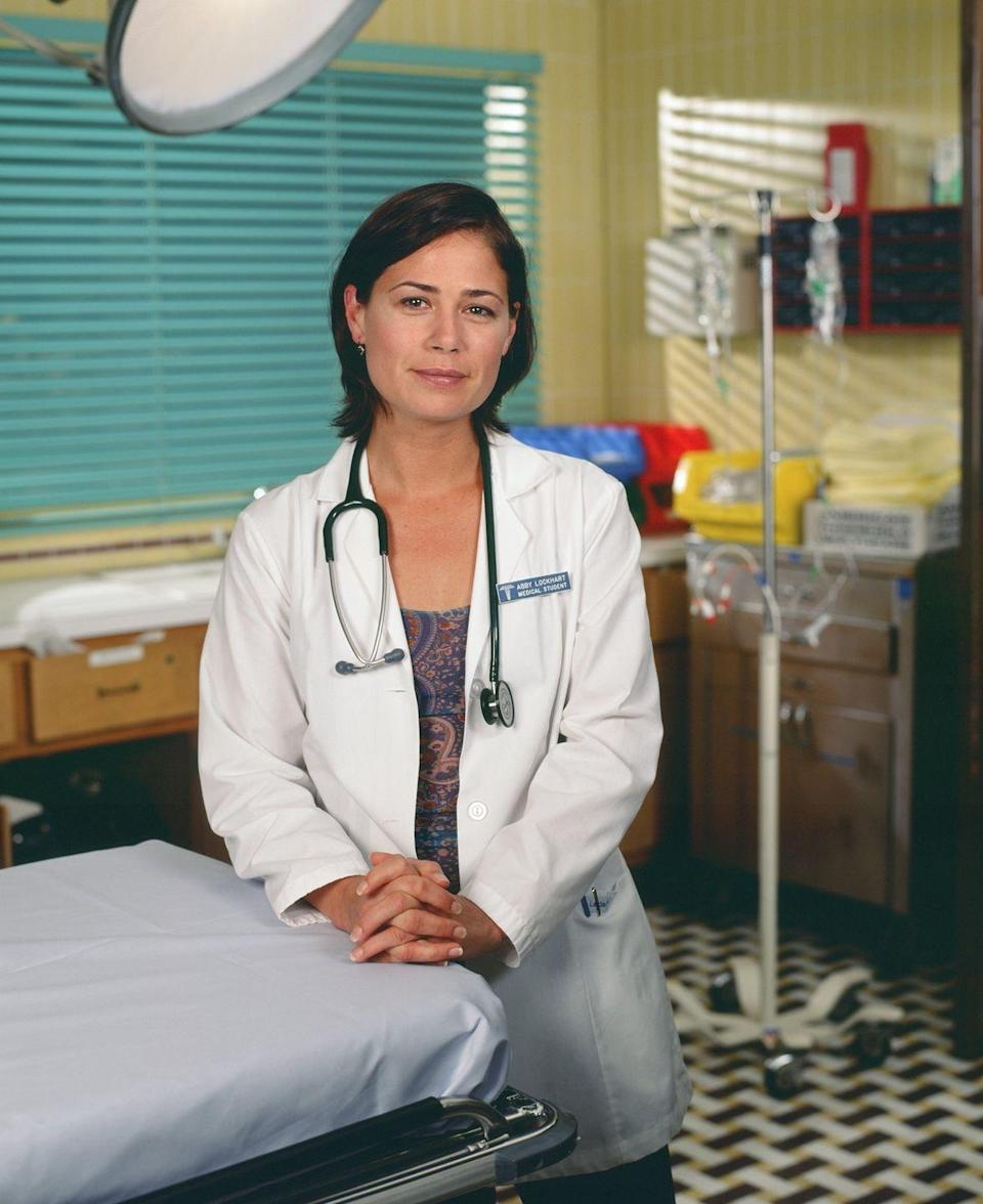 <p>Maura Tierney made a name for herself with the comedy TV show, <em>NewsRadio</em>, which she was on from 1995 to 1999. Soon after leaving, she joined the cast of <em>ER</em> as Dr. Abby Lockhart. Tierney stayed at County General until season 15 and was most recently on <em>The Affair. </em></p>