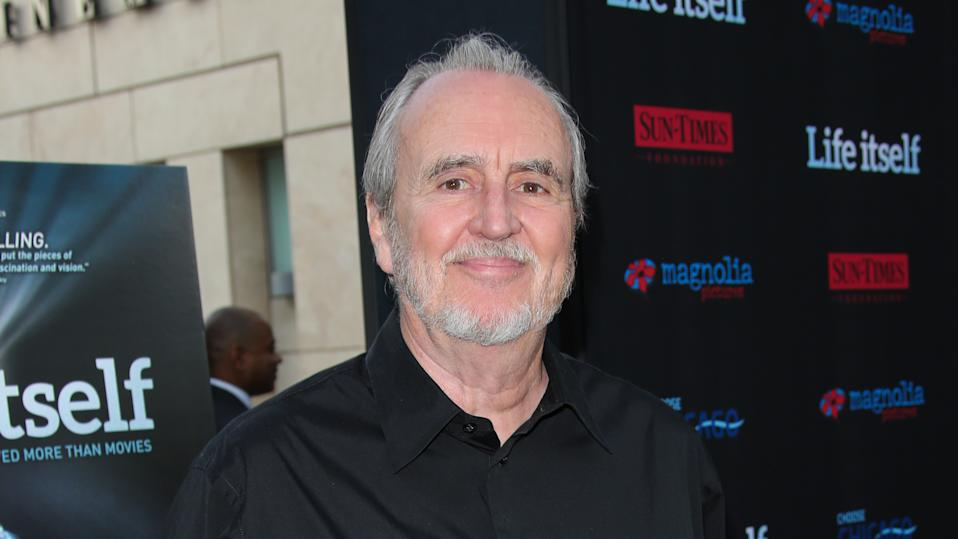 """Wes Craven attends the screening of """"Life Itself"""" at the ArcLight Cinemas on June 26, 2014. (Photo by Paul Archuleta/FilmMagic)"""