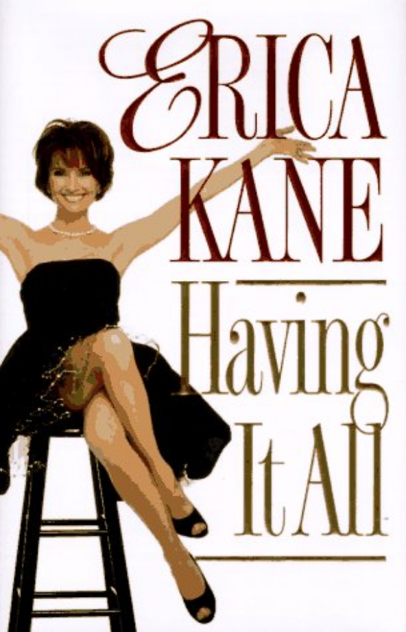 "<p>Susan Lucci also wrote her own book, but <i>Having It All</i> is La Kane, through and through. Erica never had problems feeling like a queen, so why not deign to <a href=""https://www.amazon.com/Having-All-Erica-Kane/dp/0786863633/ref=sr_1_1?s=books&ie=UTF8&qid=1510353287&sr=1-1&keywords=%27Having+it+All%27+by+Erica+Kane"" rel=""nofollow noopener"" target=""_blank"" data-ylk=""slk:impart her wisdom"" class=""link rapid-noclick-resp"">impart her wisdom</a> to lesser mortals? After all, not everybody can be a successful model, cosmetics mogul, wife, mother, and celebrity. The first step is ""Self-Love"" (no, not that kind). Loving yourself is key to ""having it all"" — and Erica was always her own No. 1 fan. (Photo: Amazon.com) </p>"