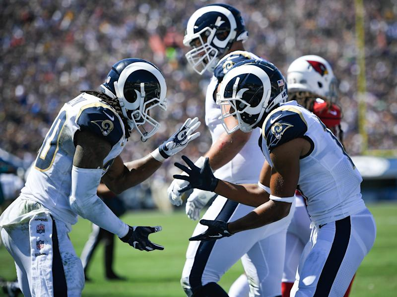 The Los Angeles Rams emerge as BIG favorites to win the Super Bowl