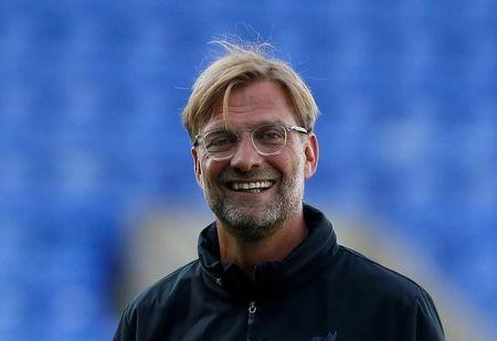 Football Soccer - Tranmere Rovers vs Liverpool - Pre Season Friendly - Liverpool, Britain - July 12, 2017   Liverpool manager Juergen Klopp before the match    Action Images via Reuters/Craig Brough