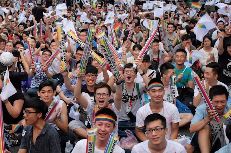 Taiwan court could rule in favour of same-sex marriage this week