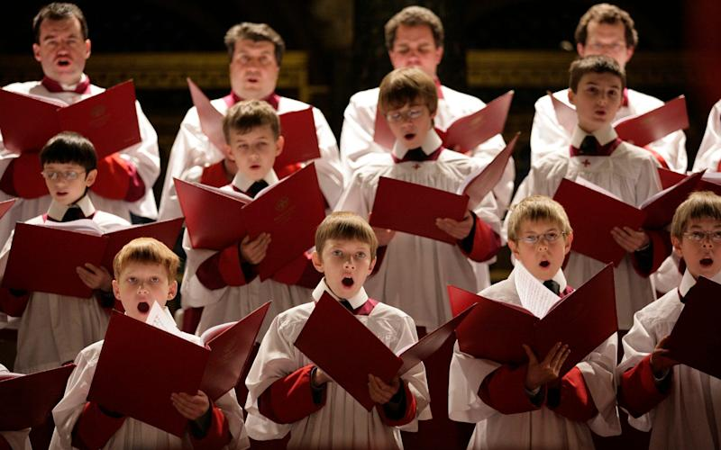Chorsters from Westminster Cathedral School - Justin Sutcliffe