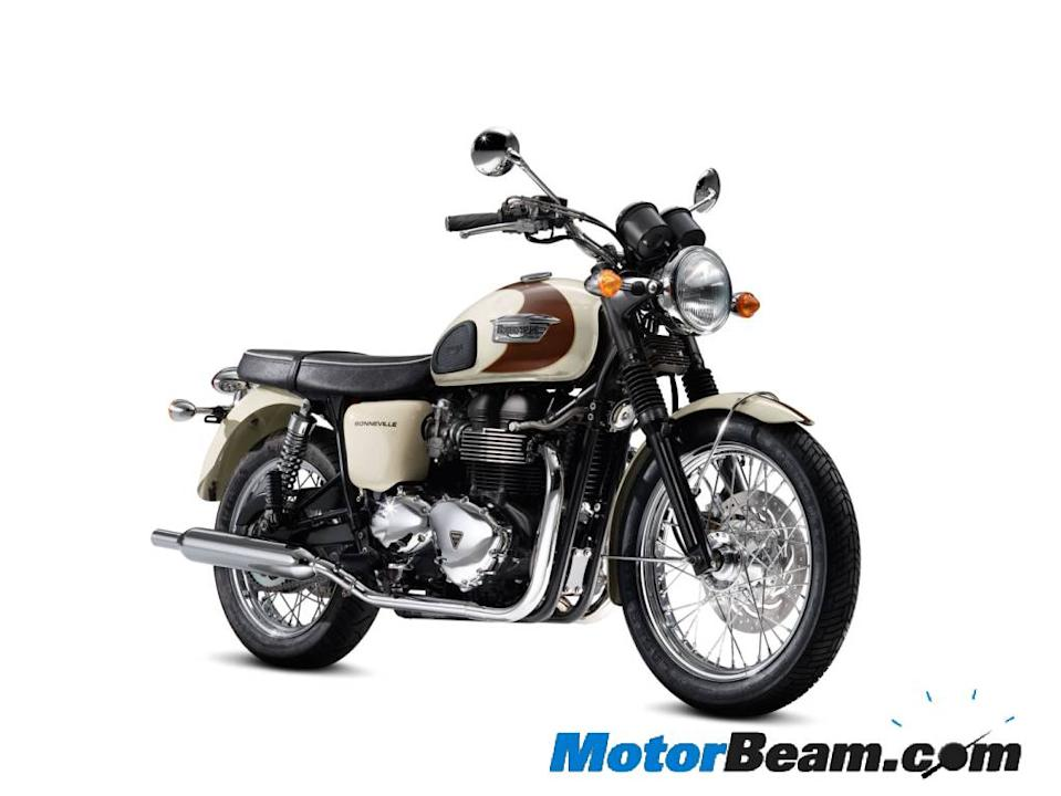 Triumph's entry level bike in India will be the classic Bonneville.