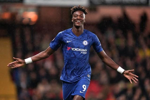 Tammy Abraham is one of a number of homegrown stars who has shone for Chelsea this season (John Walton/PA)