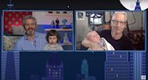 """<p>Cooper <a href=""""https://people.com/parents/anderson-cooper-welcomes-baby-boy/"""" rel=""""nofollow noopener"""" target=""""_blank"""" data-ylk=""""slk:welcomed his son, Wyatt Morgan,"""" class=""""link rapid-noclick-resp"""">welcomed his son, Wyatt Morgan,</a> via surrogate on April 27, 2020.</p> <p>Cohen celebrated on Instagram, posting a photo of the pair and captioning it, """"'new life, new hope!'"""" He added, """"Wyatt Cooper, you couldn't have come at a better time! I know a friend who can't wait to meet you! ♥️""""</p> <p>On Father's Day 2020, the pals celebrated by <a href=""""https://people.com/parents/andy-cohen-anderson-cooper-sons-meet-first-time-fathers-day/"""" rel=""""nofollow noopener"""" target=""""_blank"""" data-ylk=""""slk:introducing their sons for the first time virtually"""" class=""""link rapid-noclick-resp"""">introducing their sons for the first time virtually</a>, on Cohen's episode of <a href=""""https://people.com/tag/watch-what-happens-live/"""" rel=""""nofollow noopener"""" target=""""_blank"""" data-ylk=""""slk:Watch What Happens Live"""" class=""""link rapid-noclick-resp""""><em>Watch What Happens Live</em></a>.</p> <p>Cohen told his son during the broadcast, """"Ben, this is Wyatt. This is Wyatt Cooper. He's gonna be your good buddy."""" The <a href=""""https://people.com/tag/bravo/"""" rel=""""nofollow noopener"""" target=""""_blank"""" data-ylk=""""slk:Bravo"""" class=""""link rapid-noclick-resp"""">Bravo</a> star continued, """"That's gonna be your good buddy and we're gonna travel together. And if you like him half as much as I like his daddy, you're gonna be great friends.""""</p> <p>We're not crying, you're crying! </p>"""