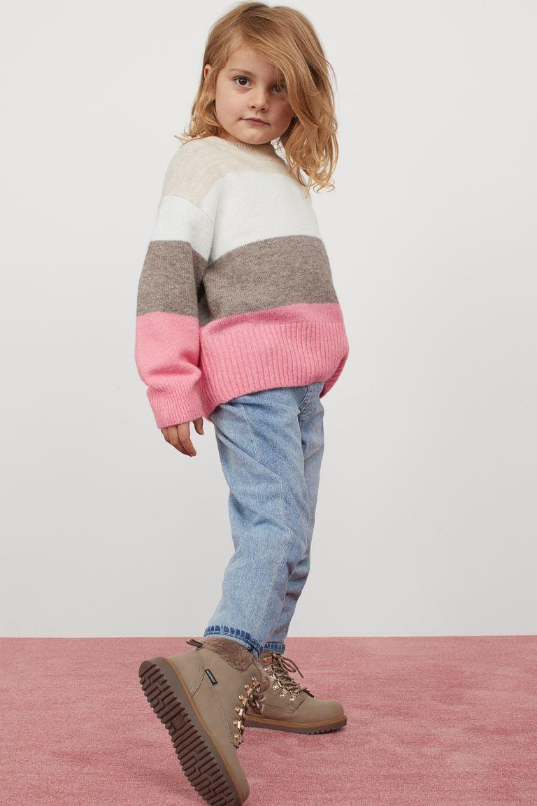 <p>They'll be obsessed with this <span>H&M Fine-knit Sweater</span> ($18).</p>