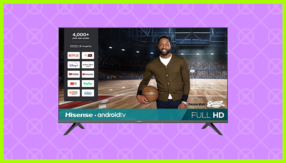 Snag this Hisense 43-inch Class HD Android Smart TV for just $230, or $200 off. (Photo: Walmart)