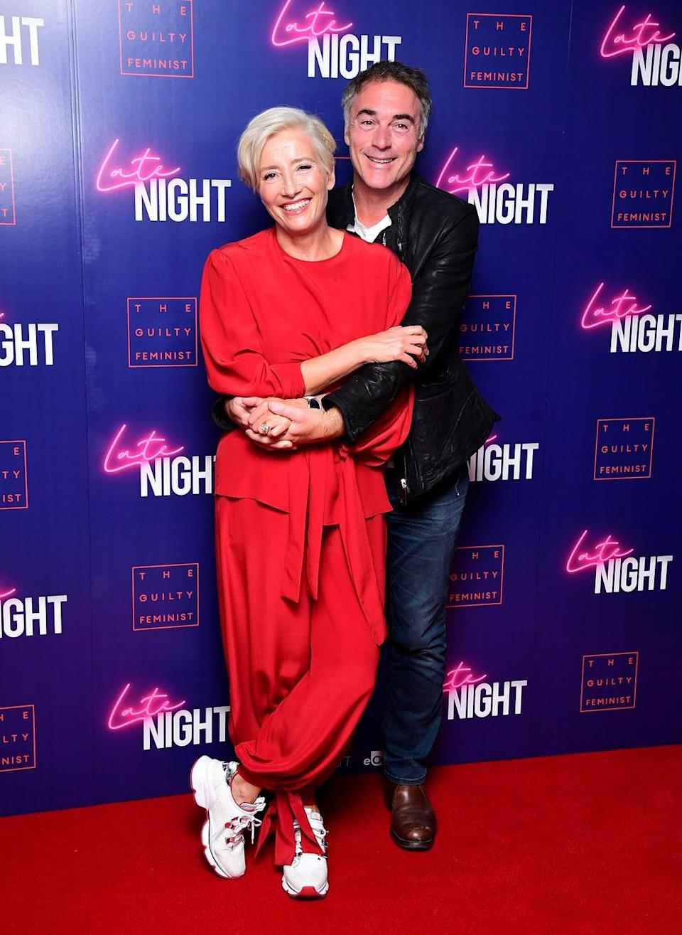 Greg Wise with his wife Dame Emma Thompson (Ian West/PA) (PA Archive)