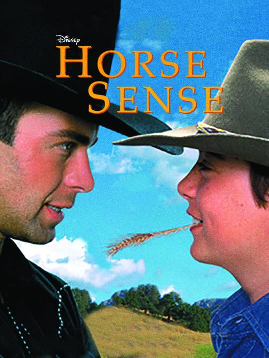 <p>At least two of the Lawrence Brothers (Joey and Andrew) star in this tall tale of a city boy forced to go live with his cousin on a ranch. (Note: This is the G-rated version, without all the nudity.)<br><br><i>(Credit: Disney Channel)</i> </p>