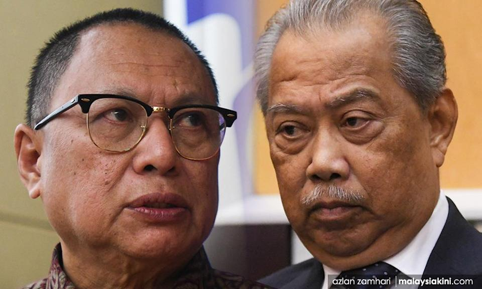 'Puad, what is your problem with Muhyiddin?'