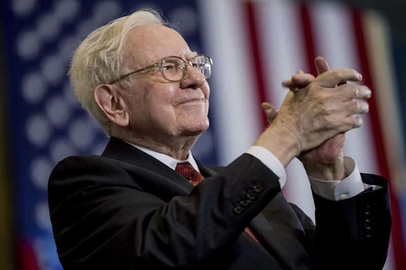 Warren Buffett (AP Photo/Andrew Harnik)