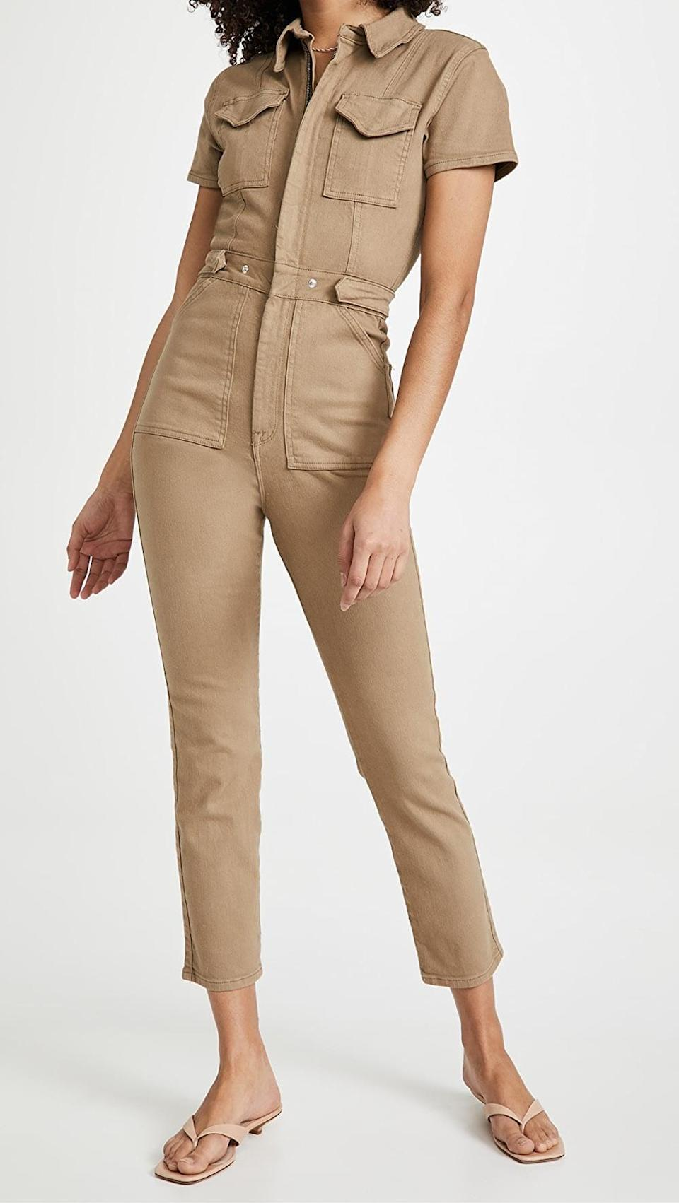 <p>This flattering <span>Good American Fit For Success Jumpsuit</span> ($159) will become your off-duty uniform.</p>