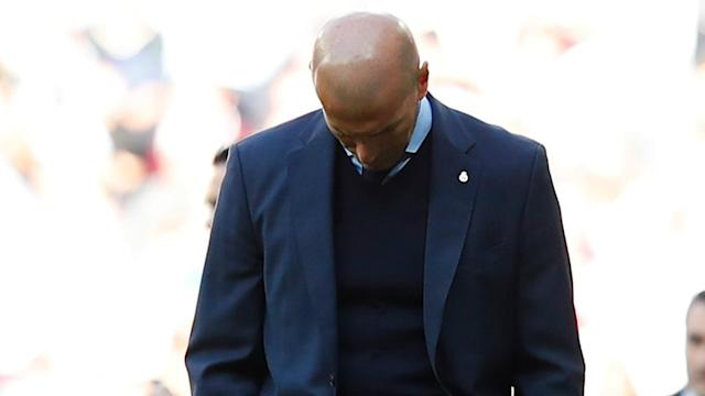 """""""It's very difficult for the confidence,"""" said Zinedine Zidane following Real Madrid's stunning 1-0 loss at home to Villarreal."""