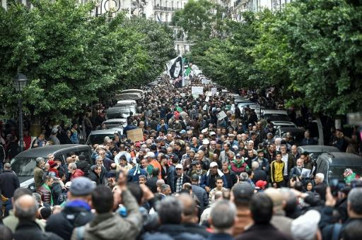 Algeria's powerful army chief General Ahmed Gaid Salah -- who died Monday -- asked president Abdelaziz Bouteflika to resign in April in the fact of an unprecedented protest movement