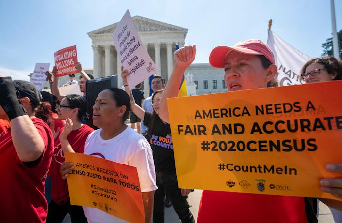 While experts fear the damage is already done on the census, after the Trump administration's failed but fierce push to put a question on citizenship on the form, activists are gearing up their messaging and outreach efforts. (Photo: J. Scott Applewhite/AP)