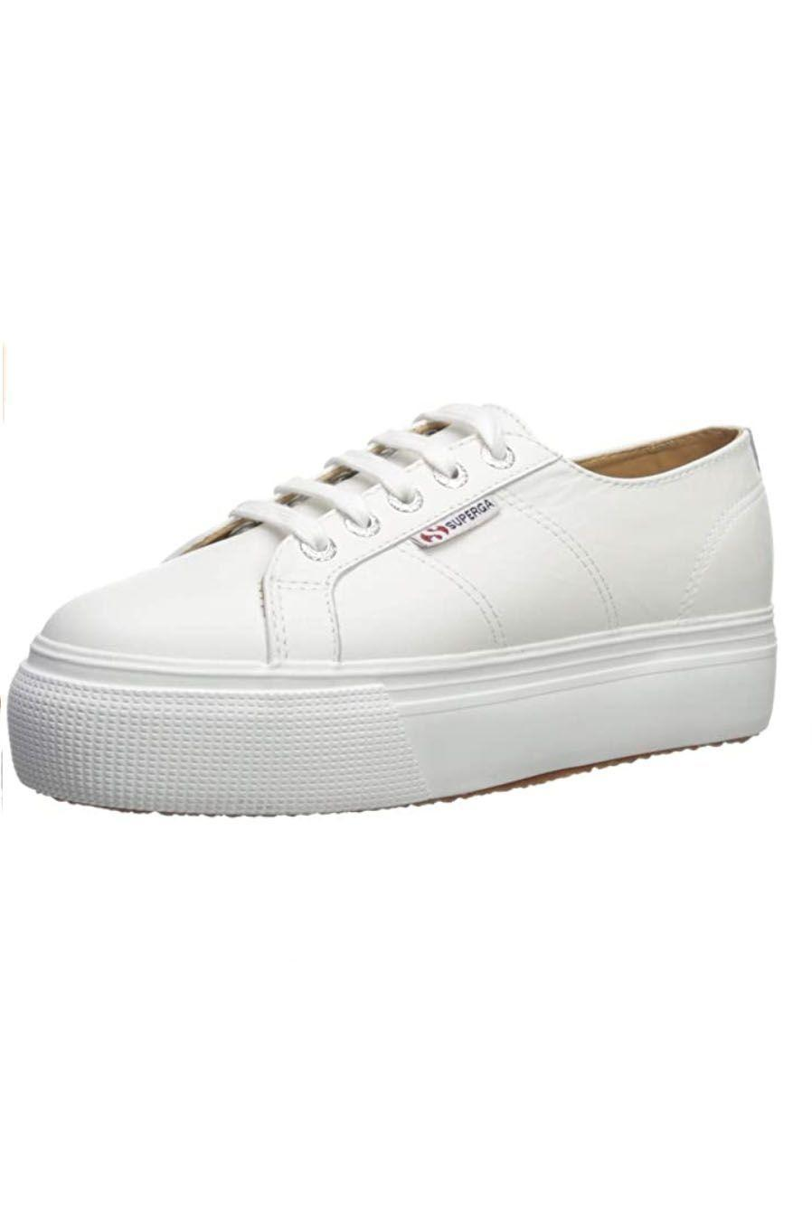 """<p><strong>Superga</strong></p><p>amazon.com</p><p><strong>$109.95</strong></p><p><a href=""""https://www.amazon.com/dp/B07H5MW1DN?tag=syn-yahoo-20&ascsubtag=%5Bartid%7C10049.g.36746335%5Bsrc%7Cyahoo-us"""" rel=""""nofollow noopener"""" target=""""_blank"""" data-ylk=""""slk:Shop Now"""" class=""""link rapid-noclick-resp"""">Shop Now</a></p><p>Superga shoes are a must on Amazon. (Even Kate Middleton is a fan!) I know these platforms have been on your radar for some time now, and judging from the reviews they are well worth the hype.</p>"""