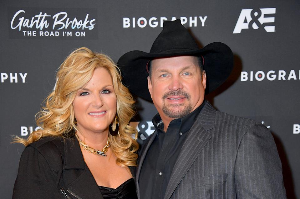 Trisha Yearwood and Garth Brooks worked on their relationship during the coronavirus quarantine. (Photo: Michael Loccisano/Getty Images)