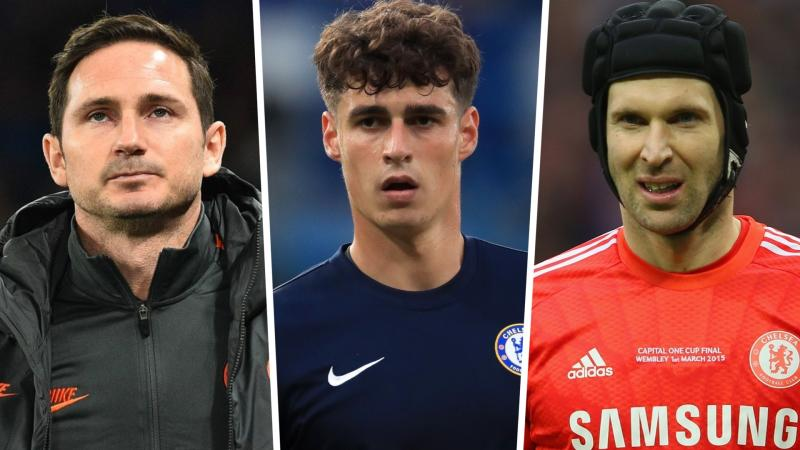 Lampard refuses to rule out Kepa loan as Cech returns to training with Chelsea goalkeepers