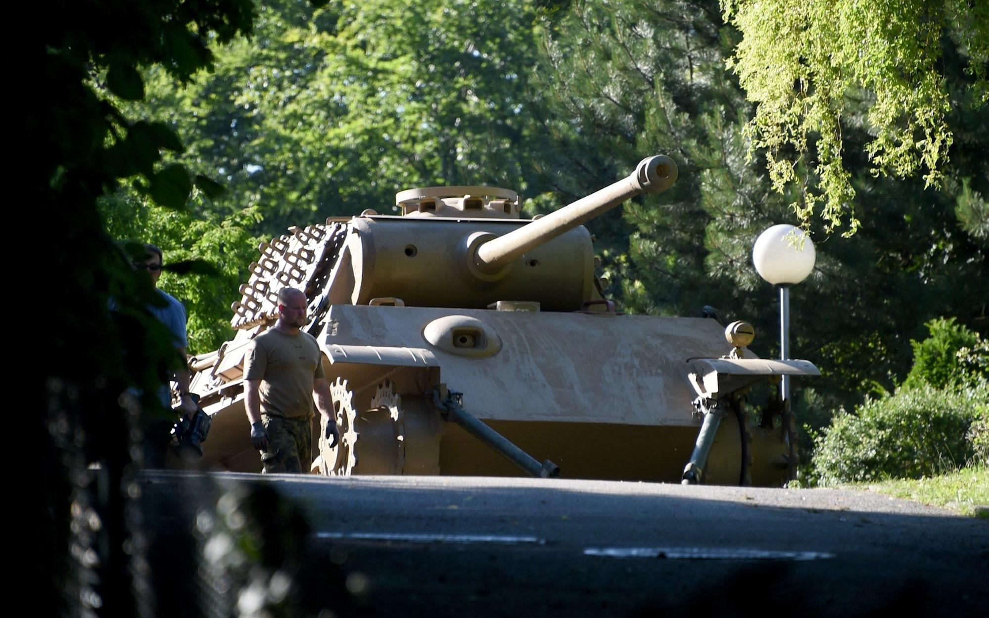 German pensioner forced to hand over Nazi tank he kept in cellar for decades