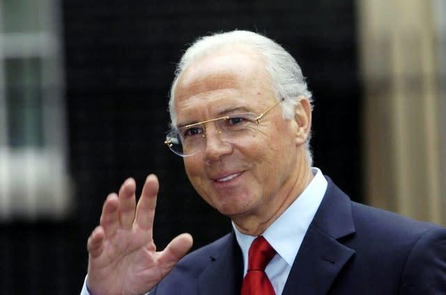 Franz Beckenbauer was due to give evidence (Ian Nicholson/PA)