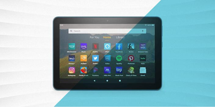 """<p>Amazon offers, perhaps, the best value in <a href=""""https://www.popularmechanics.com/technology/gadgets/a27922368/best-tablets/"""" rel=""""nofollow noopener"""" target=""""_blank"""" data-ylk=""""slk:tablets"""" class=""""link rapid-noclick-resp"""">tablets</a> as long, as you are willing to live with some compromises. The Fire series boasts more than acceptable specifications for light web browsing and movie watching. The tradeoff for the low prices is that the available software is somewhat limited, but that shouldn't be a problem for most users. </p><h3 class=""""body-h3"""">Specs to Consider</h3><p>One of the benefits (or drawbacks depending on how you look at it) of buying a Fire tablet is that Amazon makes it easy to choose which model you want. There are really only two necessary specifications to consider: screen size and storage.</p><p>The Fire tablets come in a choice of 7-, 8-, or 10-inch displays. The smallest size is fine for quick emails and reading books, but I recommend upgrading to the 8- or 10-inch model if you plan to watch movies or TV. </p><p>As for storage, most of the models come in a choice of 32 or 64 GB, which is on the low end. I own the 8- and the 10-inch Fire tablets and use them primarily for streaming, so it isn't a significant consideration for me. However, if you want to download movies or games, keep in mind that the storage space will quickly fill up. If you plan to use your tablet as a daily driver, opt for the higher-end (but not much higher priced) model.</p><p class=""""body-tip"""">Even More Tablets: <a href=""""https://www.popularmechanics.com/technology/gadgets/a27922368/best-tablets/"""" rel=""""nofollow noopener"""" target=""""_blank"""" data-ylk=""""slk:The Best Tablets of 2021"""" class=""""link rapid-noclick-resp"""">The Best Tablets of 2021</a>   <a href=""""https://www.popularmechanics.com/technology/g36397062/best-drawing-tablets/"""" rel=""""nofollow noopener"""" target=""""_blank"""" data-ylk=""""slk:The 8 Best Tablets for Drawing"""" class=""""link rapid-noclick-resp"""">The 8 Best Tablets for Drawing</a></p"""
