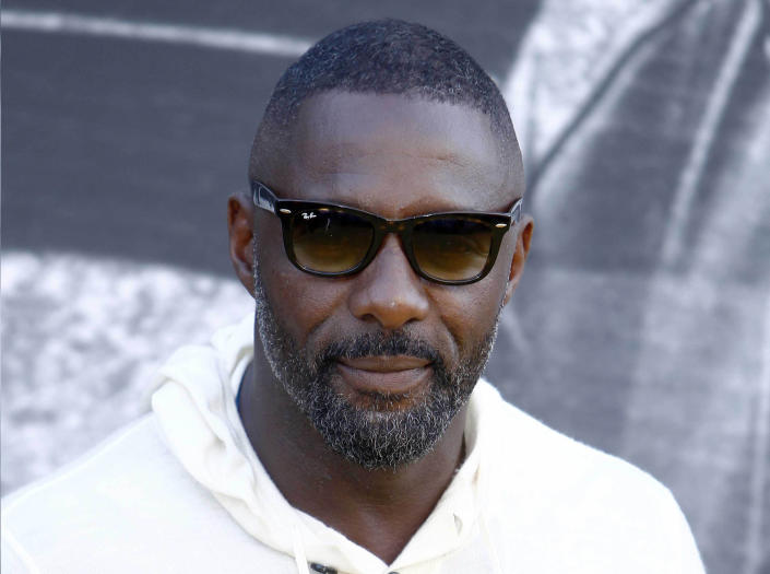 """March 16th 2020 - Actor Idris Elba has tested positive for the coronavirus. - File Photo by: zz/KGC-254/STAR MAX/IPx 2018 8/21/18 Idris Elba at the world premiere of """"Yardie"""" held at the BFI Southbank Cinema. (London, England, UK)"""