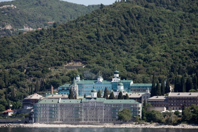 Russian PM visits coronavirus-hit Mount Athos in Greece