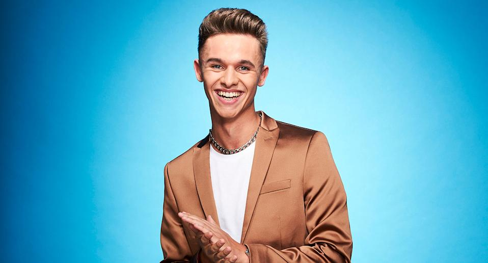 Joe-Warren Plant. Dancing On Ice 2021 (ITV)