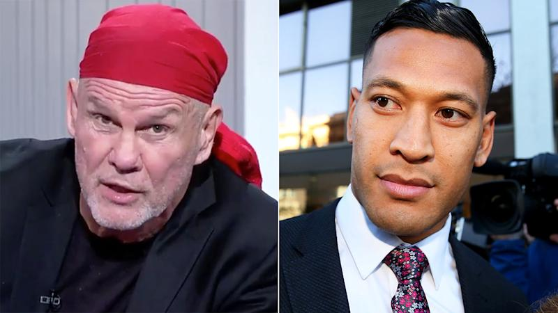 Peter FitzSimons has slammed Israel Folau for demanding an apology from Rugby Australia.