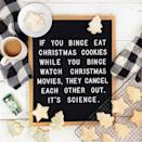 """<p>Reese is pretty clear on Instagram that the finer things in life, like cookies and ice cream, should be enjoyed regularly.</p><p><a href=""""https://www.instagram.com/p/B6WAuPrA8Mj/"""" rel=""""nofollow noopener"""" target=""""_blank"""" data-ylk=""""slk:See the original post on Instagram"""" class=""""link rapid-noclick-resp"""">See the original post on Instagram</a></p>"""