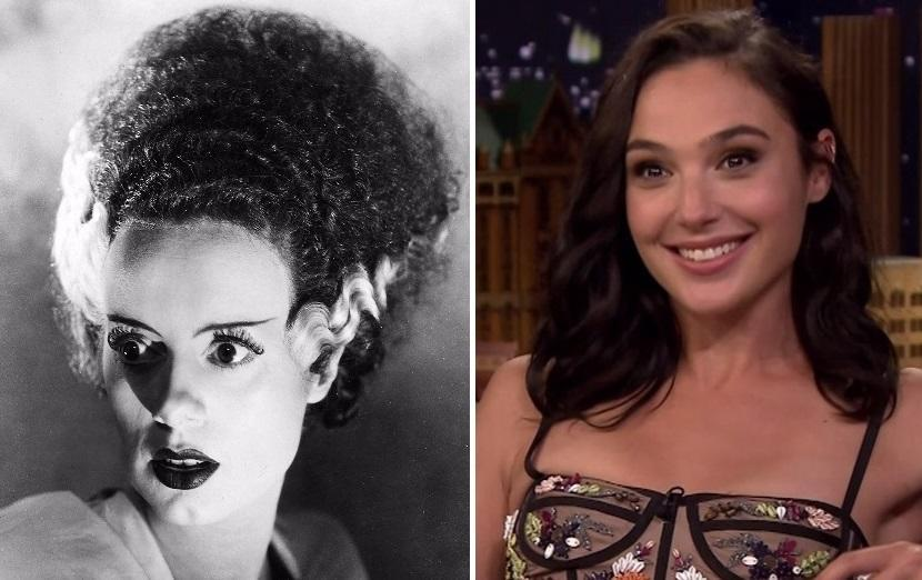 Gal Gadot may be in line to play the Bride of Frankenstein (credit: Universal/NBC)
