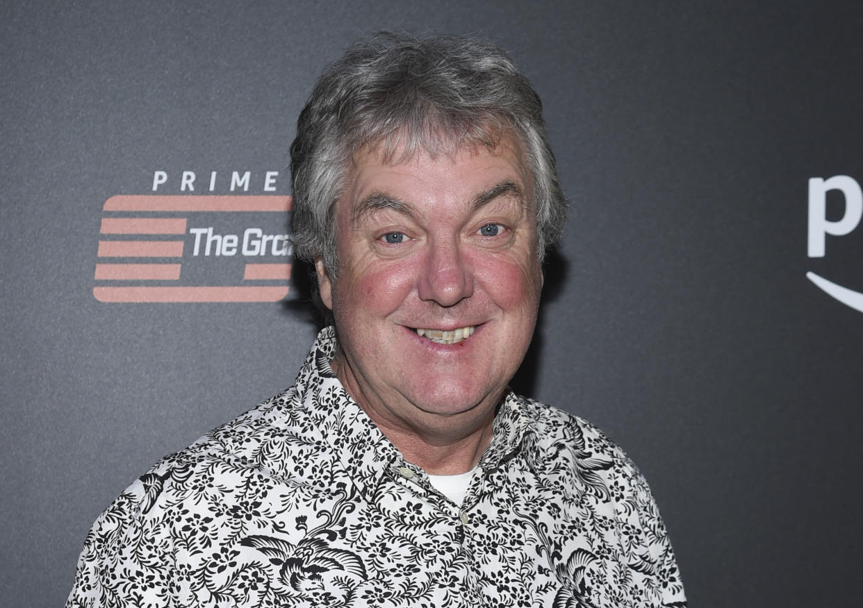 """Co-host James May attends Amazon Studio's """"The Grand Tour"""" season two premiere screening and party at Duggal Greenhouse on Thursday, Dec. 7, 2017, in New York. (Photo by Evan Agostini/Invision/AP)"""