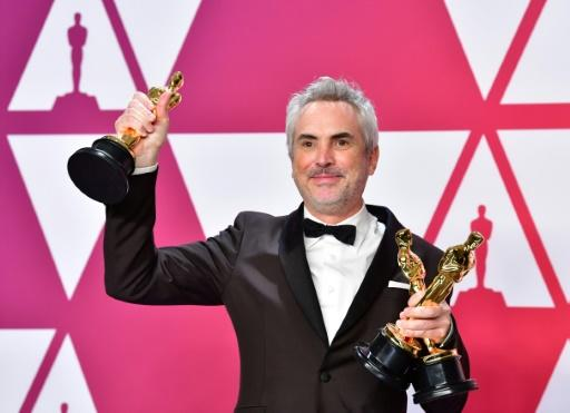 """Mexico's Alfonso Cuaron won three Oscars for """"Roma"""" in 2019 -- best foreign film, best director and best cinematography, but he was unable to break through to secure a best picture win"""
