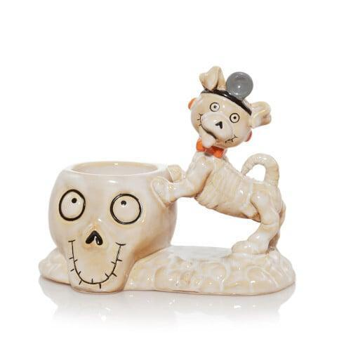 <p>Animal-lovers need this quirky <span>Bonesy the Therapy Dog Tea Light Candle Holder</span> ($20)!</p>