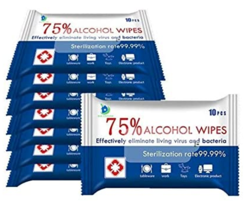 HOLYSTONE 10-Pack Cleaning Wipes