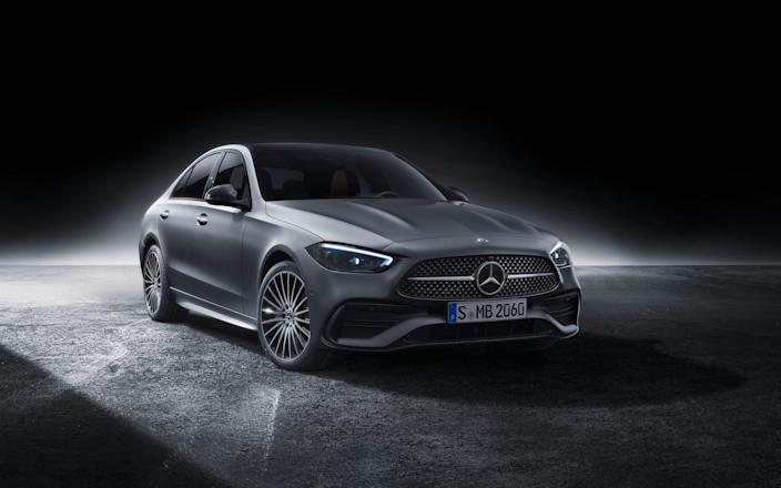 2022 Mercedes Benz C Class sedan._1