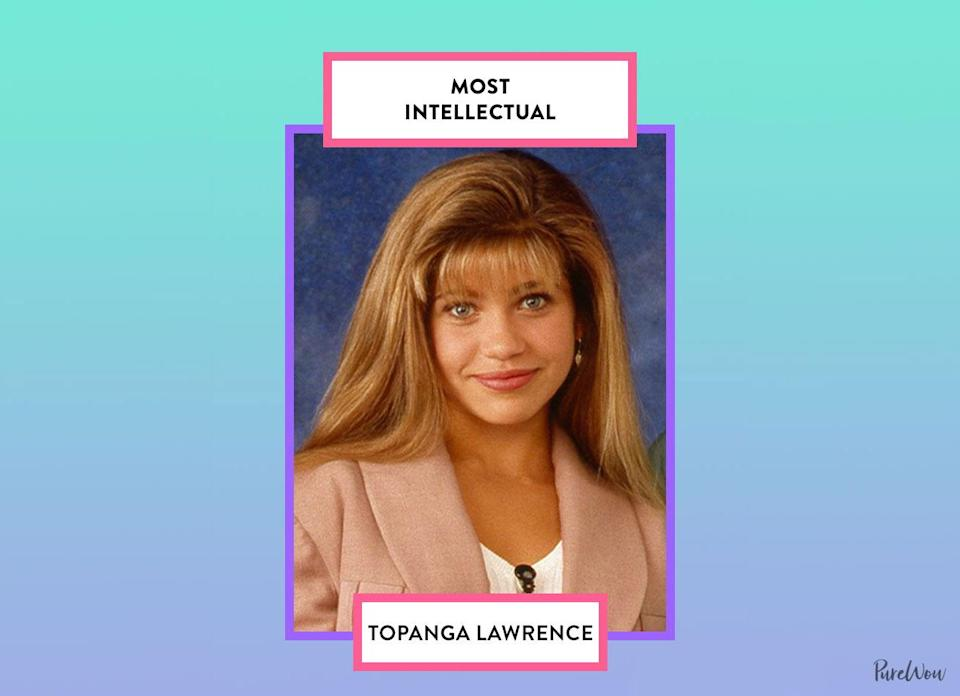 <p>Topanga blossomed from a quirky, free-spirited soul into a passionate intellectual who wants to make the world a better place. We stan.</p>