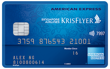 American Express Singapore Airlines KrisFlyer Credit Card