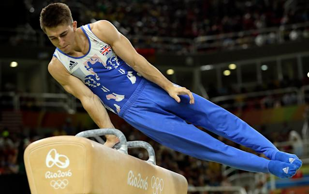 A number of British Olympians, including Max Whitlock, will be offering their services to the public - Copyright 2016 The Associated Press. All rights reserved. This material may not be published, broadcast, rewritten or redistribu